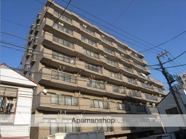 神奈川県横浜市鶴見区、国道駅徒歩4分の築23年 8階建の賃貸マンション