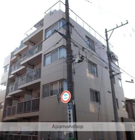 神奈川県横浜市鶴見区、国道駅徒歩12分の築26年 5階建の賃貸マンション