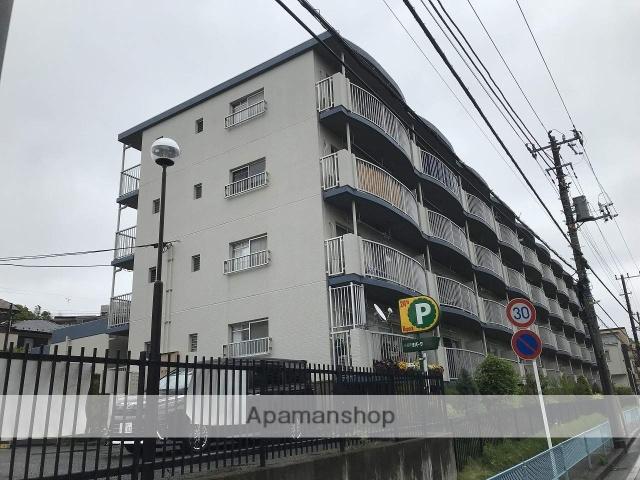 神奈川県横浜市神奈川区、大口駅徒歩15分の築33年 4階建の賃貸マンション