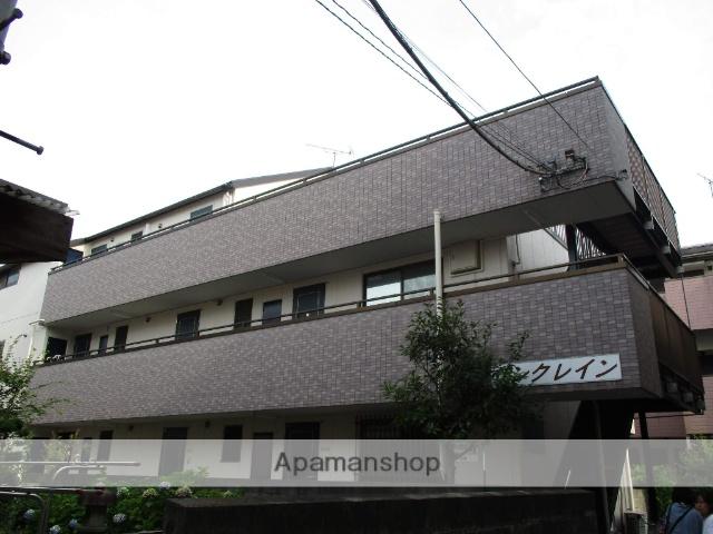 神奈川県横浜市鶴見区、鶴見駅徒歩15分の築22年 3階建の賃貸マンション