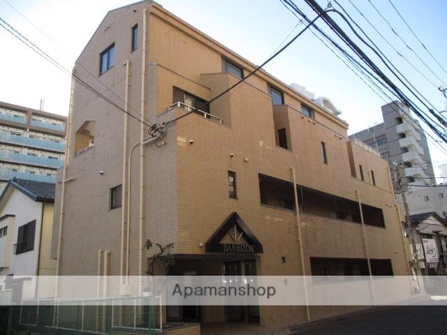 神奈川県横浜市鶴見区、鶴見駅徒歩4分の築28年 3階建の賃貸マンション