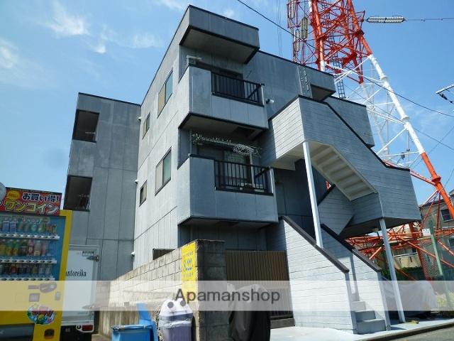 神奈川県横浜市鶴見区、尻手駅徒歩18分の築26年 3階建の賃貸マンション