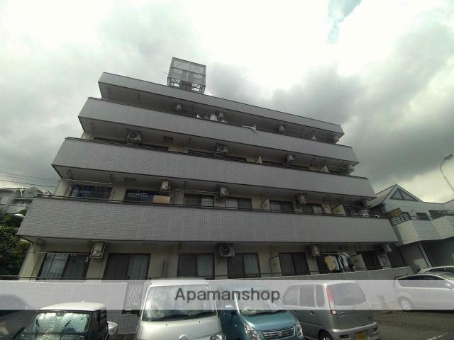 神奈川県横浜市鶴見区、鶴見駅徒歩13分の築26年 4階建の賃貸マンション