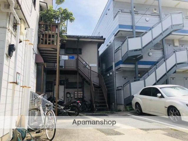 神奈川県横浜市鶴見区、鶴見駅徒歩15分の築34年 2階建の賃貸アパート