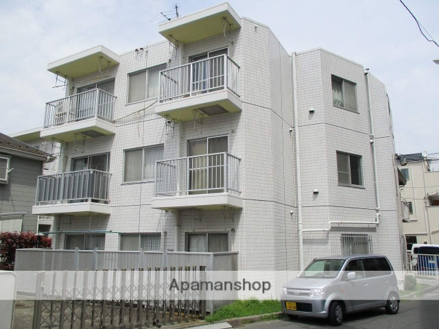 神奈川県横浜市鶴見区、国道駅徒歩19分の築28年 3階建の賃貸マンション