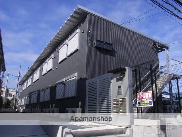 神奈川県横浜市鶴見区、鶴見駅徒歩18分の築8年 2階建の賃貸アパート