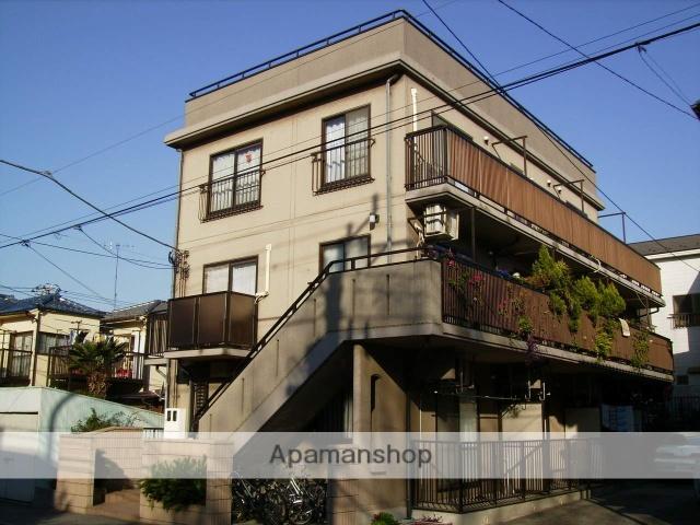 神奈川県横浜市鶴見区、浅野駅徒歩16分の築22年 3階建の賃貸マンション