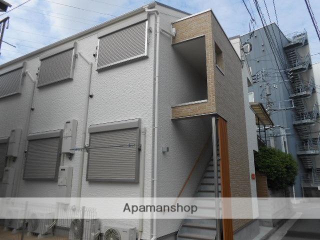 神奈川県横浜市鶴見区、鶴見駅徒歩13分の築2年 2階建の賃貸アパート