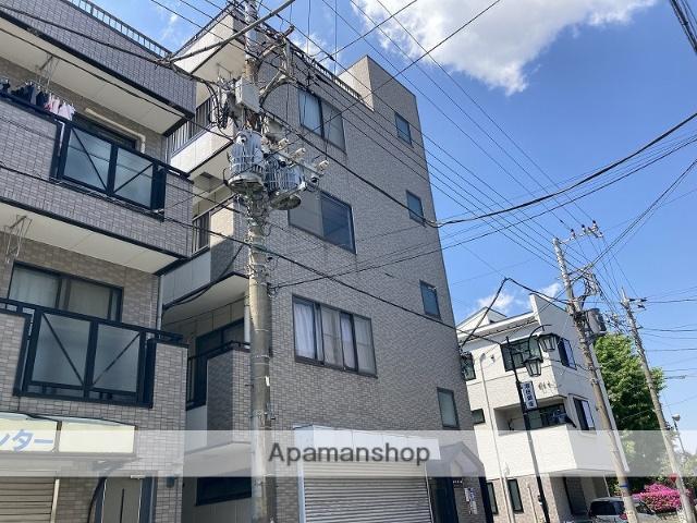 神奈川県横浜市鶴見区、鶴見小野駅徒歩15分の築18年 4階建の賃貸マンション