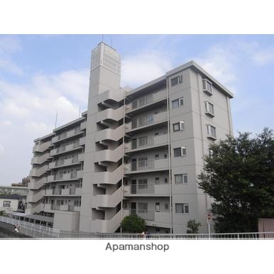 神奈川県横浜市鶴見区、鶴見駅徒歩13分の築32年 7階建の賃貸マンション