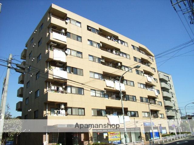神奈川県横浜市鶴見区、鶴見駅徒歩15分の築27年 7階建の賃貸マンション