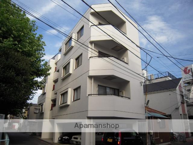 神奈川県横浜市神奈川区、大口駅徒歩6分の築28年 4階建の賃貸マンション