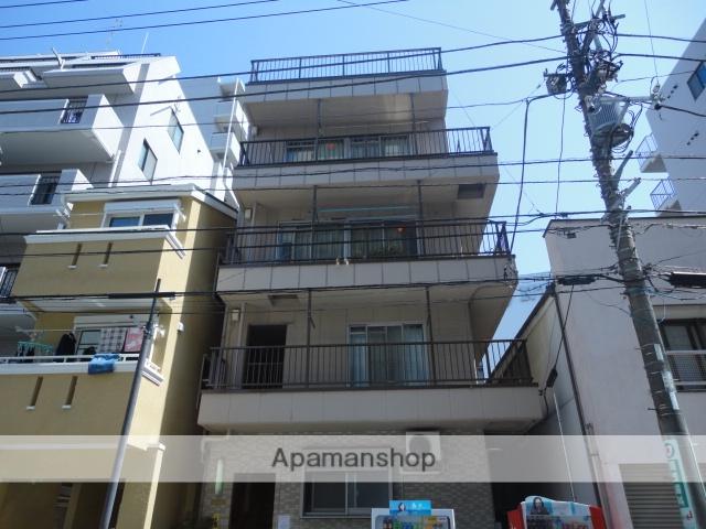神奈川県横浜市鶴見区、鶴見駅徒歩5分の築36年 4階建の賃貸マンション
