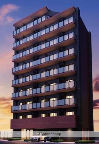 神奈川県川崎市川崎区、川崎駅徒歩13分の新築 9階建の賃貸マンション