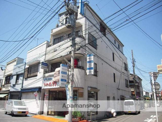 神奈川県横浜市鶴見区、鶴見小野駅徒歩6分の築28年 4階建の賃貸マンション