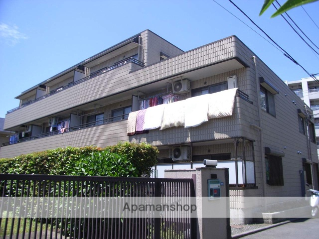 神奈川県横浜市鶴見区、鶴見駅徒歩5分の築23年 3階建の賃貸マンション