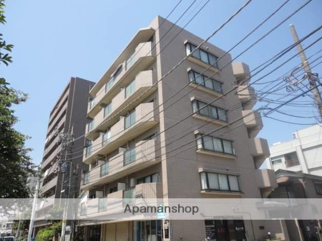 神奈川県横浜市鶴見区、鶴見駅徒歩21分の築27年 6階建の賃貸マンション