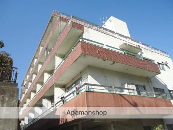神奈川県横浜市鶴見区、鶴見駅徒歩5分の築46年 7階建の賃貸マンション