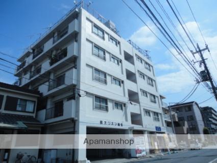 神奈川県横浜市鶴見区、鶴見駅徒歩7分の築41年 6階建の賃貸マンション