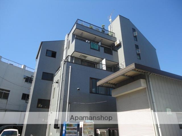 神奈川県横浜市鶴見区、弁天橋駅徒歩5分の築25年 4階建の賃貸マンション