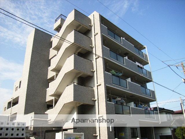 神奈川県横浜市鶴見区、浅野駅徒歩19分の築22年 5階建の賃貸マンション