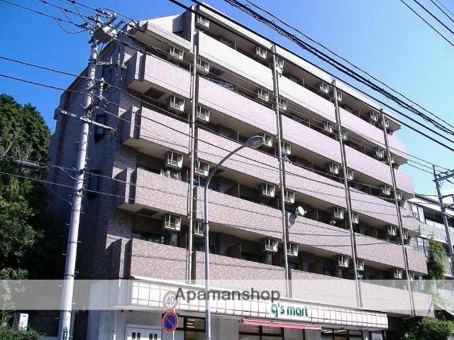 神奈川県横浜市鶴見区、鶴見駅徒歩8分の築19年 6階建の賃貸マンション