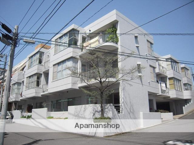 神奈川県横浜市鶴見区、鶴見駅徒歩22分の築35年 3階建の賃貸マンション