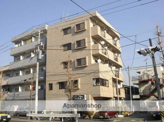 神奈川県川崎市幸区、矢向駅徒歩18分の築27年 5階建の賃貸マンション