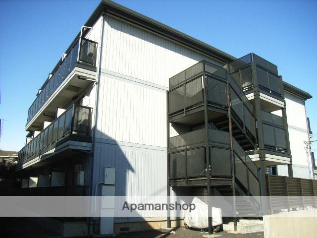 神奈川県横浜市鶴見区、鶴見駅徒歩18分の築19年 3階建の賃貸アパート