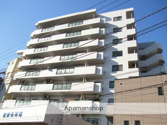 神奈川県横浜市鶴見区、鶴見駅徒歩4分の築28年 9階建の賃貸マンション