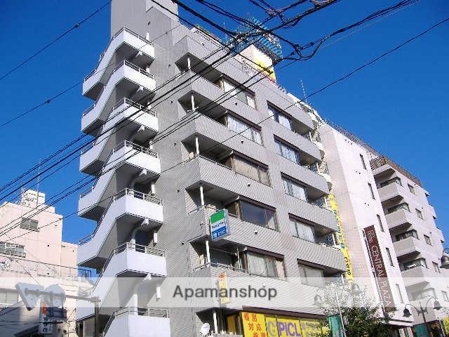 神奈川県横浜市鶴見区、国道駅徒歩10分の築28年 9階建の賃貸マンション