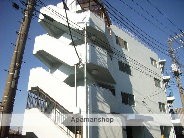 神奈川県横浜市鶴見区、鶴見駅徒歩19分の築52年 4階建の賃貸マンション
