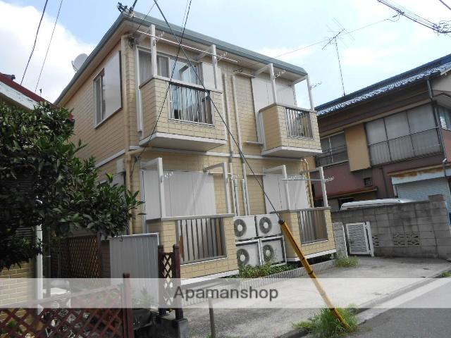 神奈川県横浜市鶴見区、鶴見駅徒歩13分の築23年 2階建の賃貸アパート
