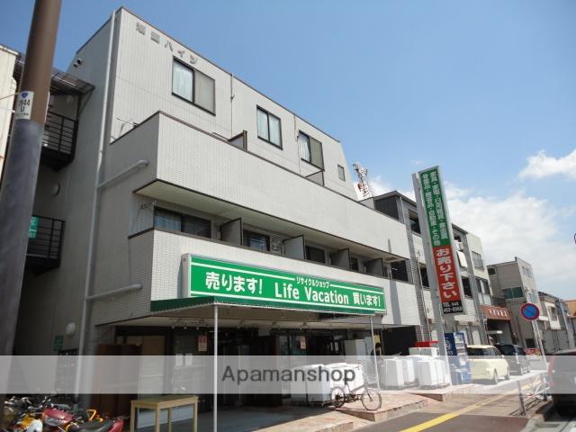 神奈川県横浜市神奈川区、大口駅徒歩15分の築27年 4階建の賃貸マンション