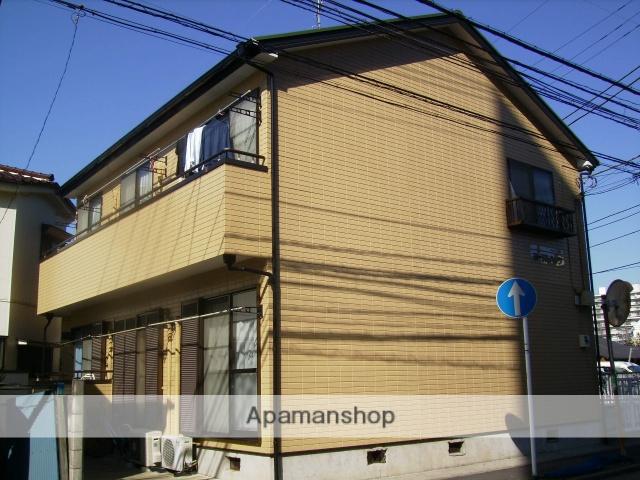神奈川県横浜市鶴見区、川崎駅徒歩20分の築22年 2階建の賃貸アパート