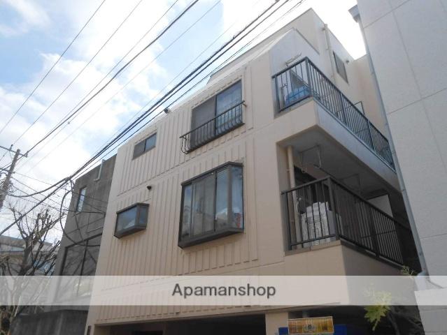 神奈川県横浜市鶴見区、鶴見駅徒歩10分の築32年 4階建の賃貸マンション
