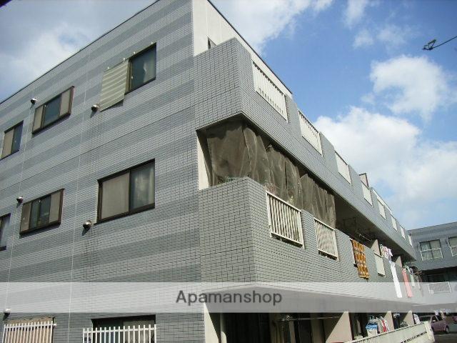 神奈川県横浜市鶴見区、鶴見駅徒歩10分の築24年 3階建の賃貸マンション