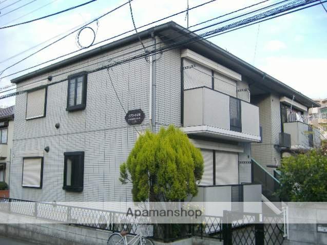 神奈川県横浜市神奈川区、大口駅徒歩15分の築20年 2階建の賃貸アパート