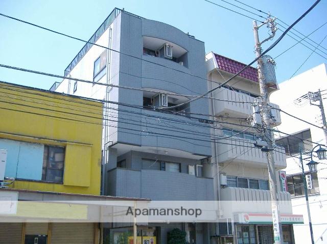 神奈川県横浜市鶴見区、国道駅徒歩10分の築26年 4階建の賃貸マンション