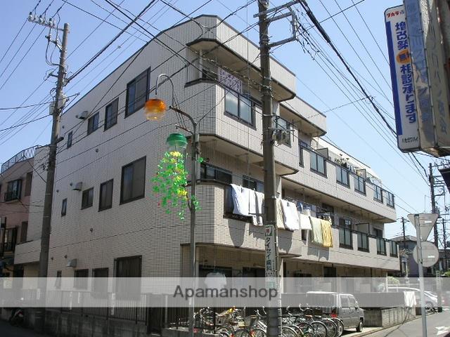 神奈川県川崎市川崎区、川崎新町駅徒歩16分の築23年 3階建の賃貸マンション