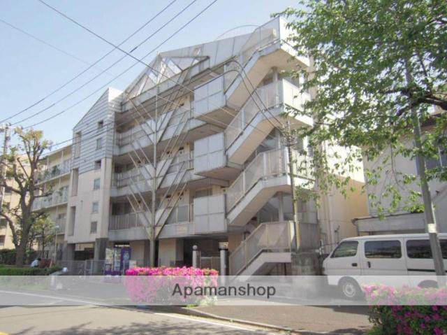 神奈川県横浜市鶴見区、鶴見小野駅徒歩4分の築28年 4階建の賃貸マンション