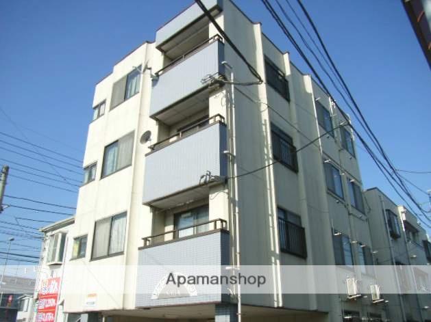 神奈川県横浜市鶴見区、鶴見駅徒歩15分の築20年 4階建の賃貸マンション