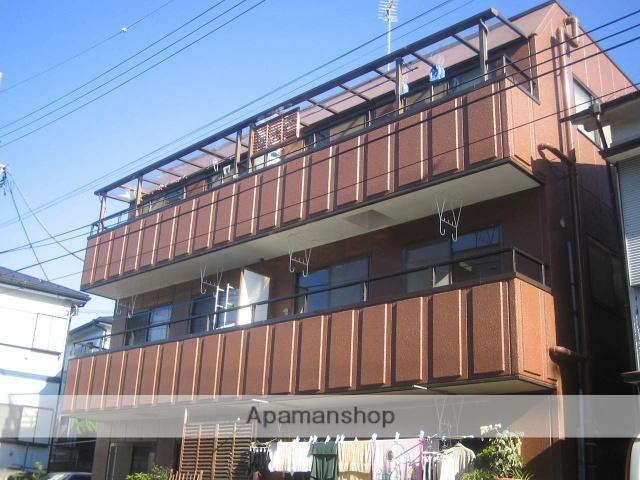 神奈川県横浜市鶴見区、大口駅徒歩30分の築30年 3階建の賃貸マンション