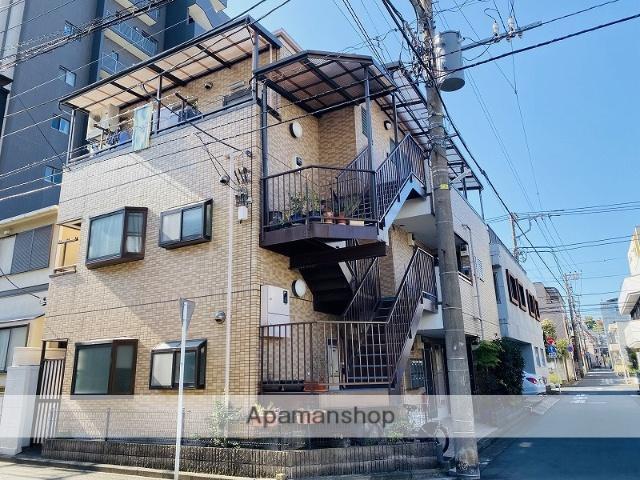 神奈川県横浜市鶴見区、鶴見駅徒歩3分の築20年 3階建の賃貸マンション