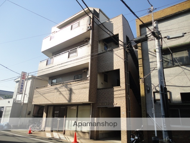 神奈川県横浜市鶴見区、国道駅徒歩5分の築23年 4階建の賃貸マンション