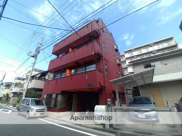 神奈川県横浜市鶴見区、鶴見小野駅徒歩15分の築27年 4階建の賃貸マンション