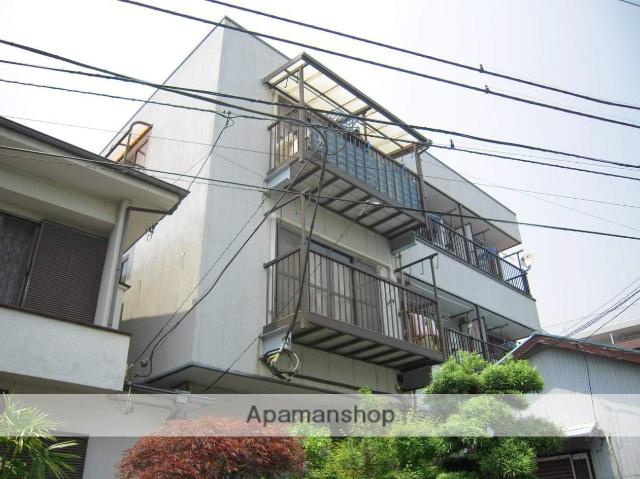 神奈川県横浜市鶴見区、浅野駅徒歩8分の築21年 3階建の賃貸マンション