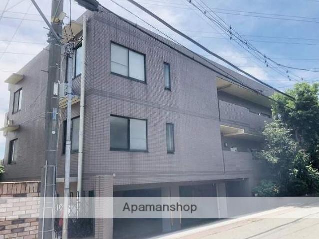 神奈川県横浜市鶴見区、鶴見駅バス15分梶山下車後徒歩4分の築22年 2階建の賃貸マンション