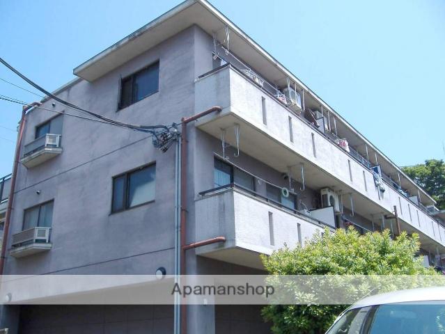 神奈川県横浜市鶴見区、国道駅徒歩10分の築26年 3階建の賃貸マンション
