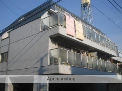 神奈川県横浜市鶴見区、鶴見駅徒歩10分の築38年 4階建の賃貸マンション